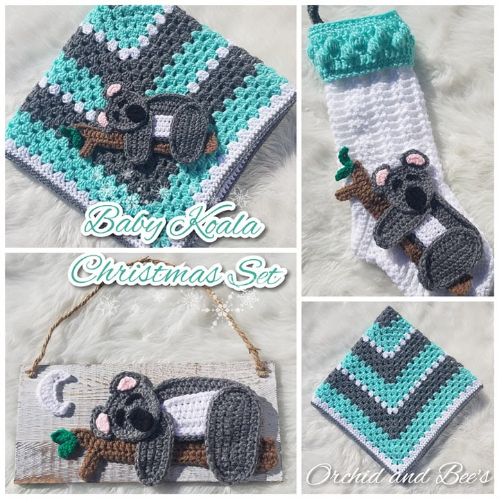 Gender Neutral Crochet Pattern Set for Baby