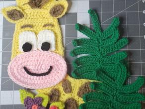 Crochet Giraffe in honor of April, rest in peace sweet friend