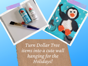 How to Crochet A Penguin Applique & Create Cute Wall Decor!