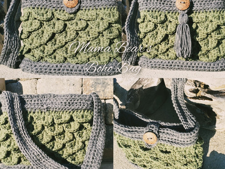 How to Crochet Mama Bear's Boho Bag