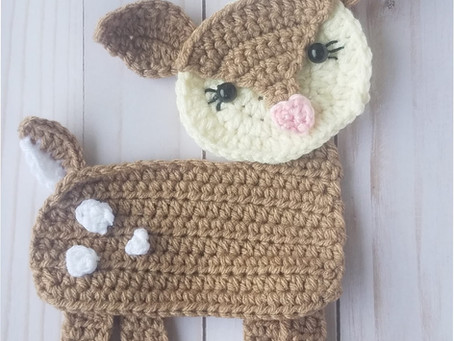 How to crochet Willow the Deer