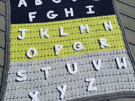 How to Crochet 26 Alphabet Letters