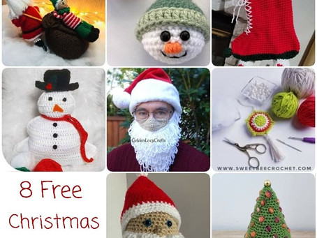 8 Cute Free Christmas Patterns To Try