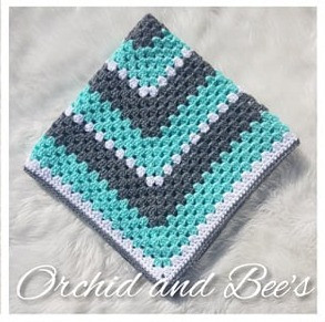 Gender Neutral Baby Blanket Crochet Pattern