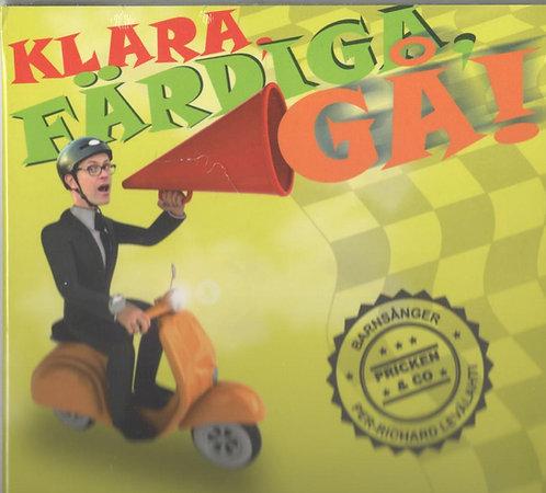Levälahti P-R. Klara färdiga Gå! Barn CD