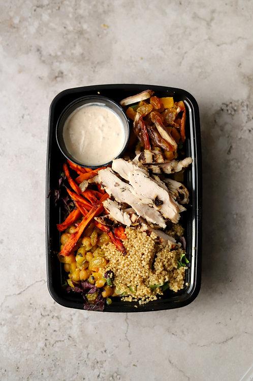 Moroccan Chicken Salad  GF