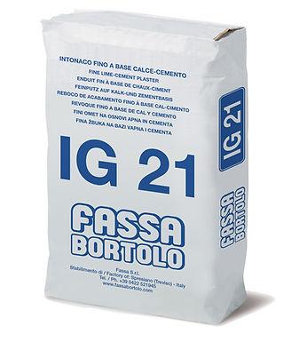 INTONACO DI FONDO  IG 21 BIANCO
