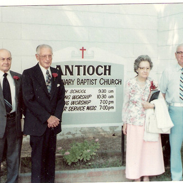 Charter Members of Antioch