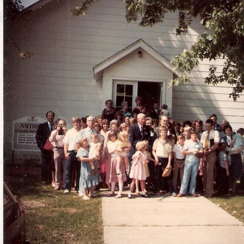 Antioch Baptist Church 1953