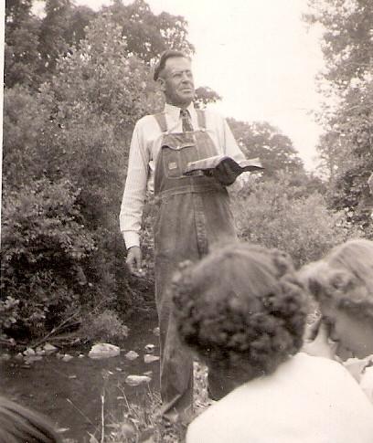 Antioch Stump Preaching