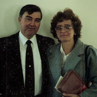 Pastor Bill Belcher and wife