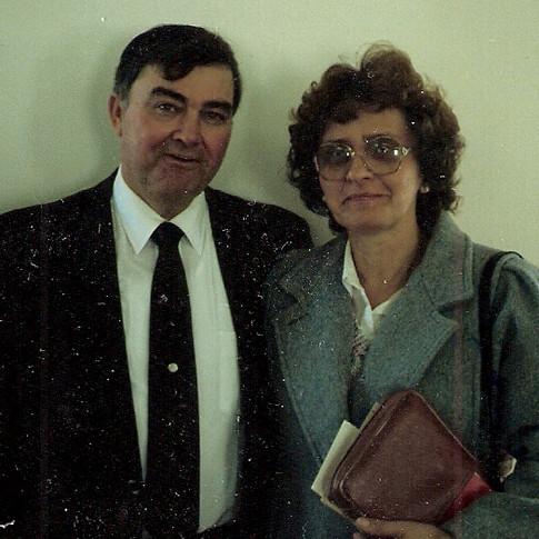 Pastor Bill Belcher and wife