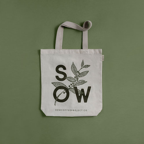 Sow Coffee Project Eco Tote