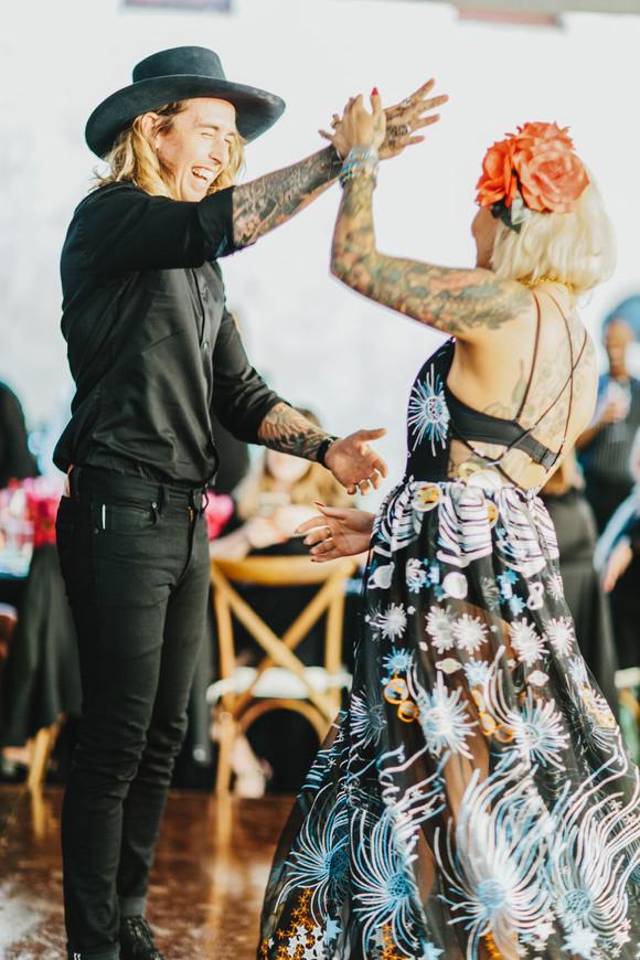 unique ceremony dress first dance