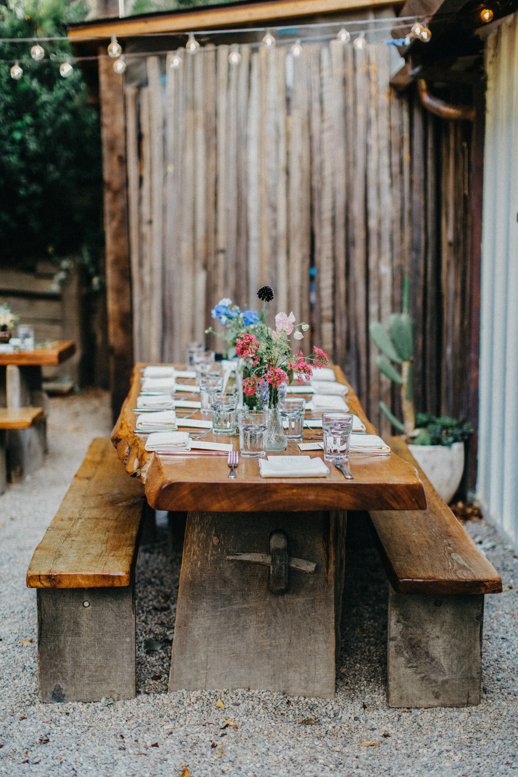 big sur bakery wedding reception