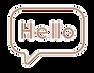 hello contact icon