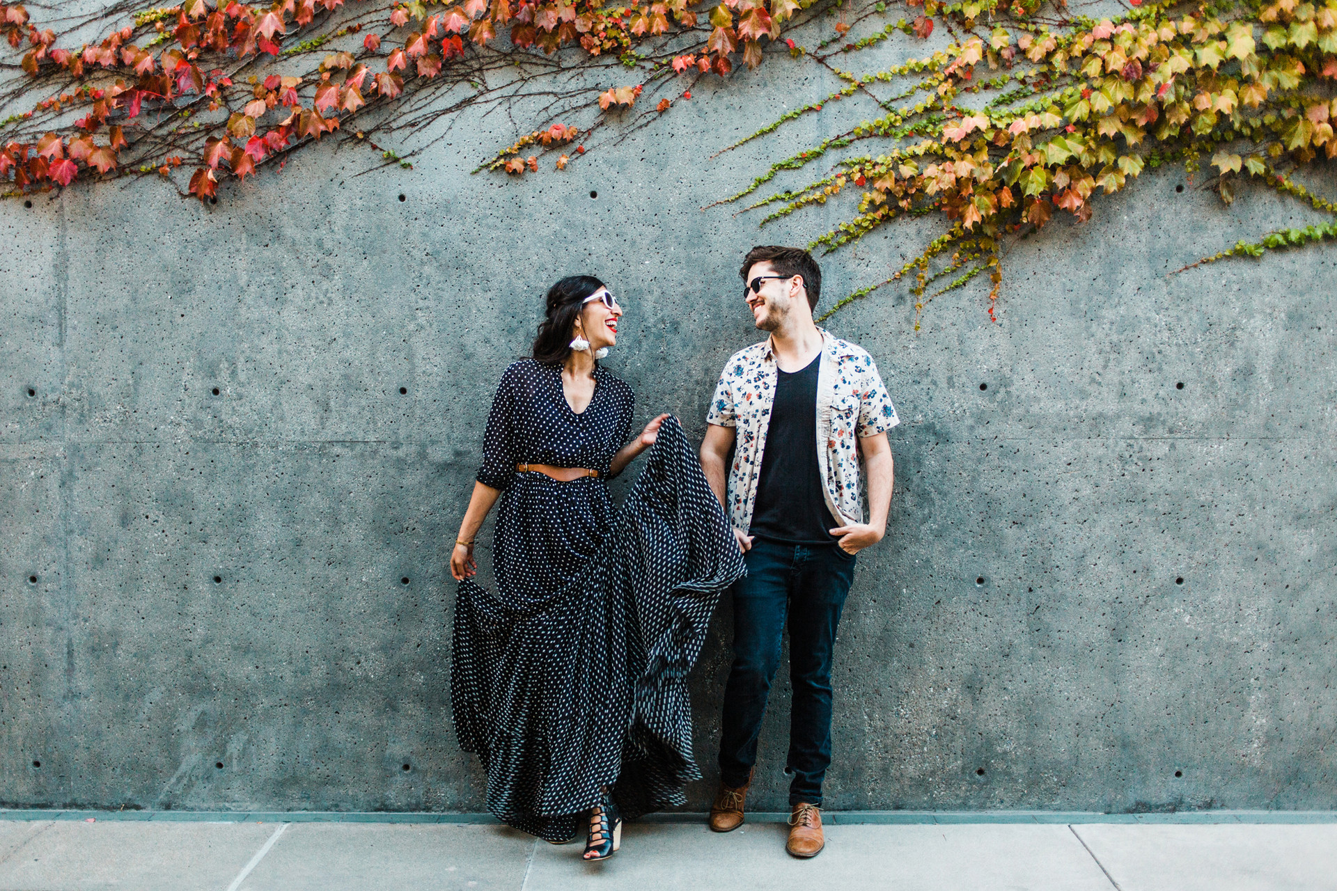 outfit ideas for engagement photos