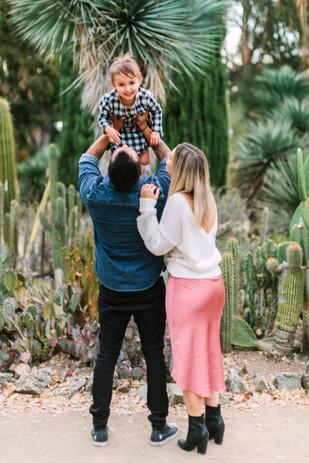 cactus garden family photos