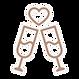 champange toast icon