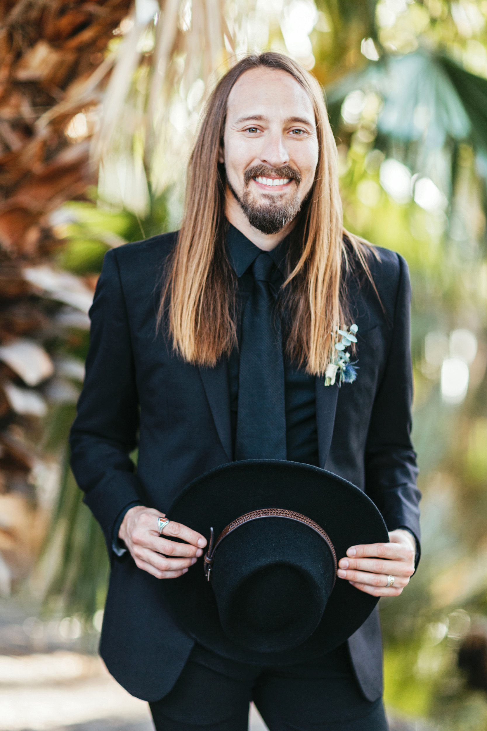 native american groom wedding style