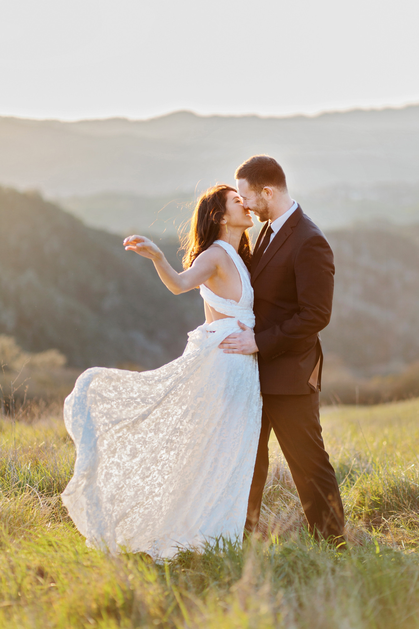 fancy outfits for engagement photos