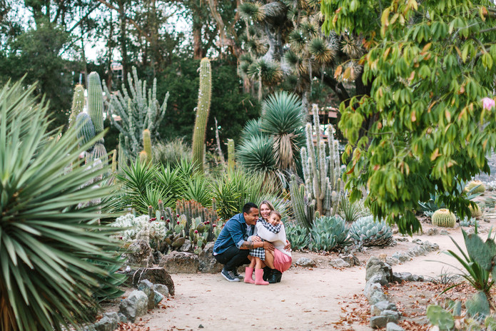 cactus garden orange county family photos