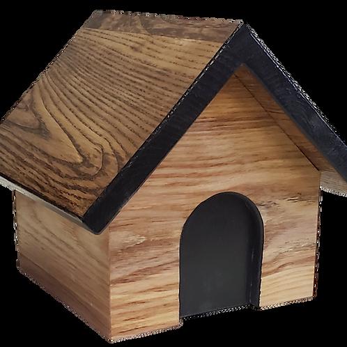 Dog House Wood Urn