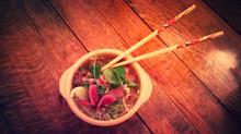Wild Venison Pho  (Vietnamese noodle soup)