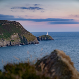 Sunset at Gogarth, N Wales