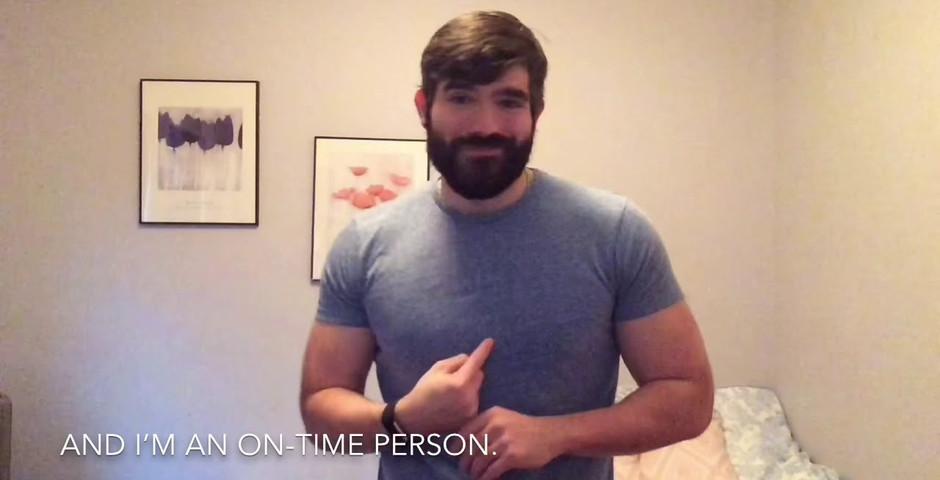Mike Birbirbiglia's Late People, in ASL