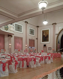 Add creative flair to your wedding in SNH Main Hall