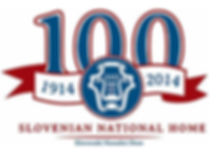 Slovenian National Home 100th Anniversary Logo