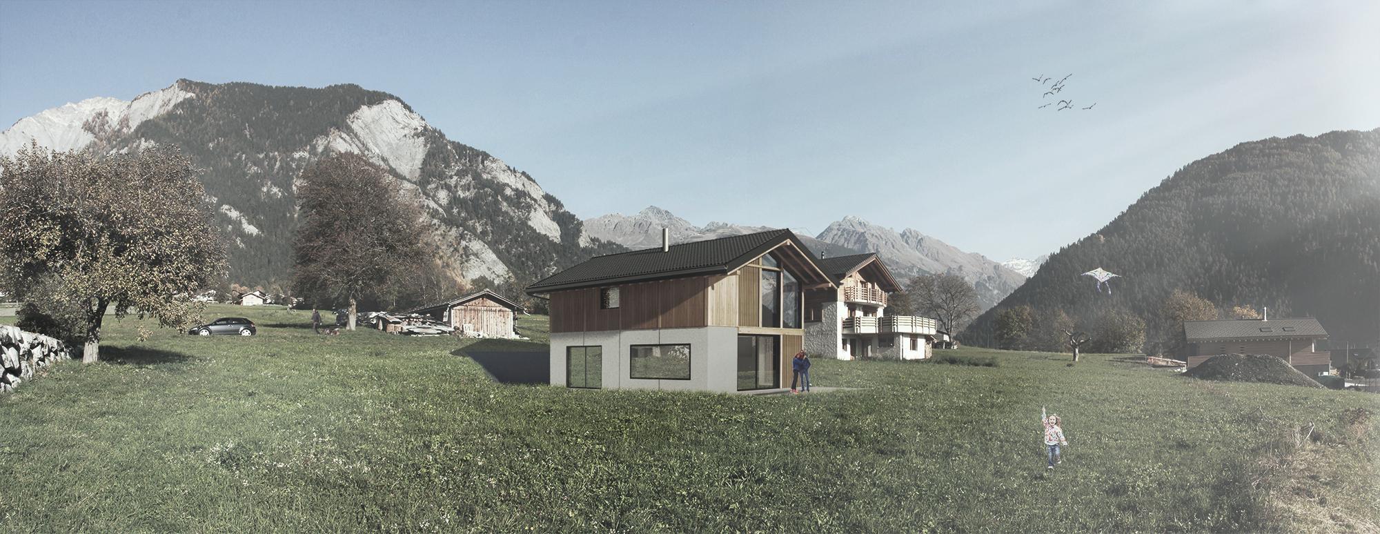 Vollèges | Construction d'une villa