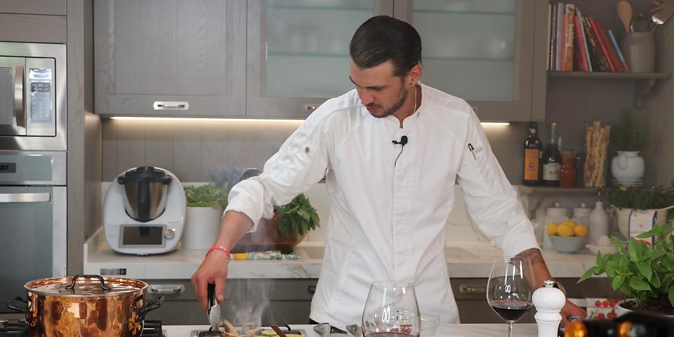 "Showcooking: ""Cocina italiana con Francesco Cavicchi"""