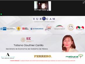 23/03/2021 Reunión de Cámaras Europeas y la Secretaría de Economía refuerza relaciones económicas