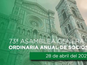 03/05/2021 73ª Asamblea General Ordinaria Anual