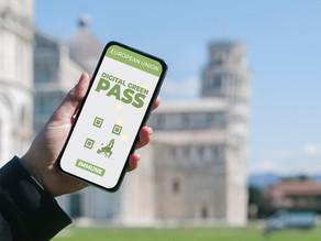 25/03/2021 Digital Green Pass para ingresar a Europa