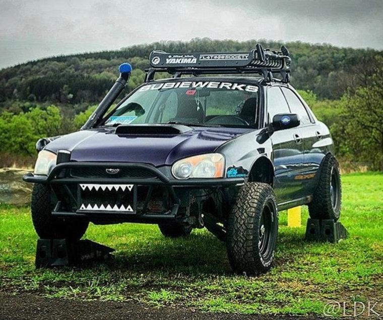 Subaru Forester Off Road >> Subaru Off Road Front Bumper