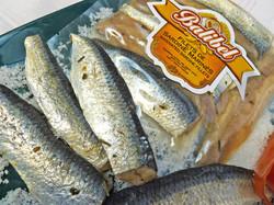 Filets de sardine marinés