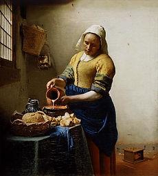 tableau de Johannes Vermeer