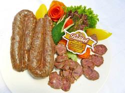 Figatelle - pork liver sausage
