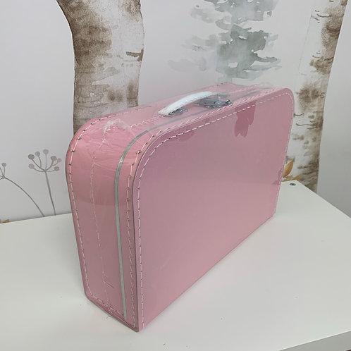 papírový kufřík největší růžový