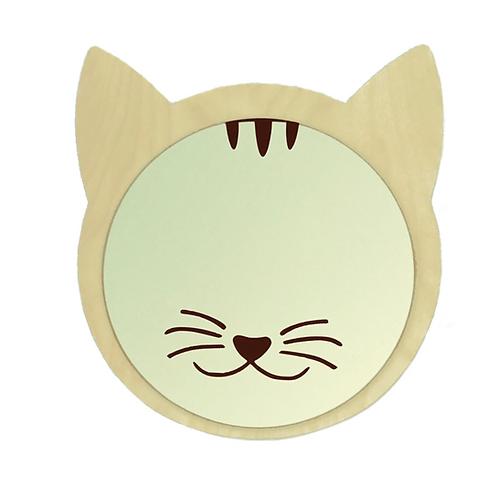 zrcadlo kočička