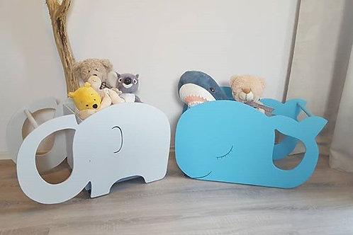 Úložný vozíček slon