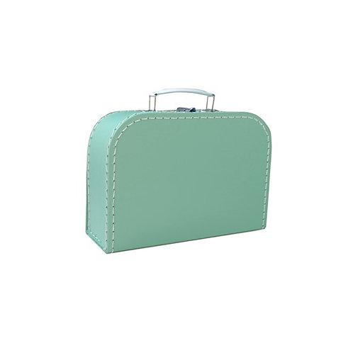 papírový kufřík střední mint