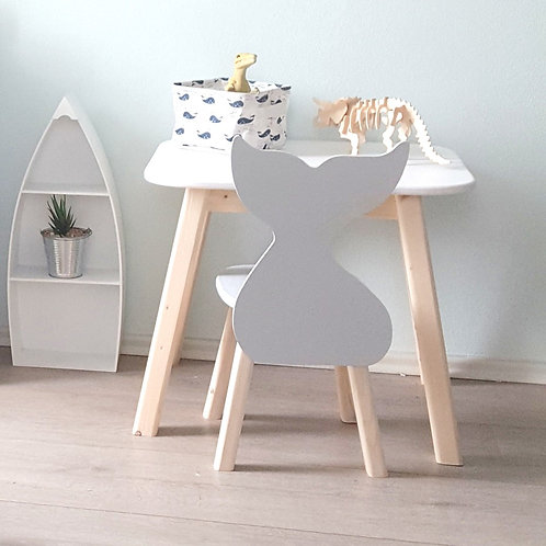 velrybí židlička