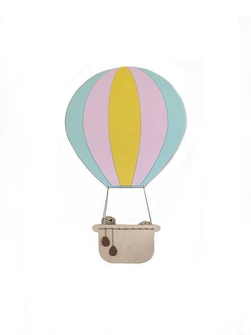 polička horkovzdušný balon