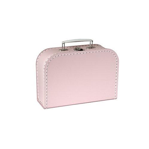 papírový kufřík střední růžový