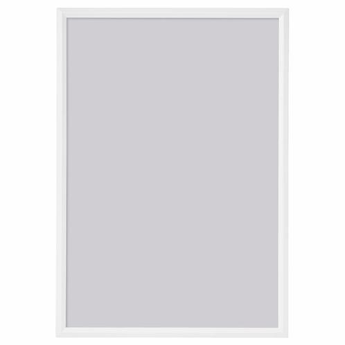 jemný rámeček 21x30 A4 bílý