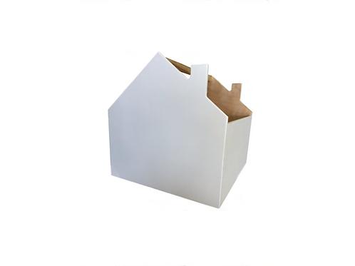maxi přepravka - box domeček (kallax)